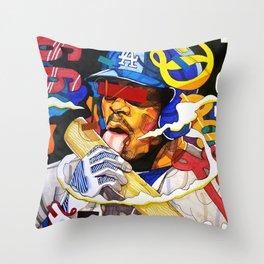 Yasiel Puig Throw Pillow