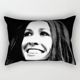 Alanis Morissette Rectangular Pillow