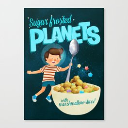 Sugar Frosted Planets Canvas Print