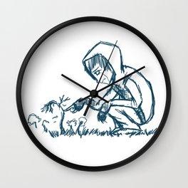 Deceased Earth Wall Clock