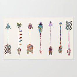 seven little arrows Rug