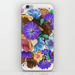 CANDY & FLOWERS iPhone Skin