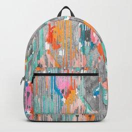 rainy day balinese ikat Backpack