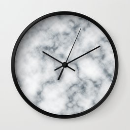 Marble Cloud Wall Clock