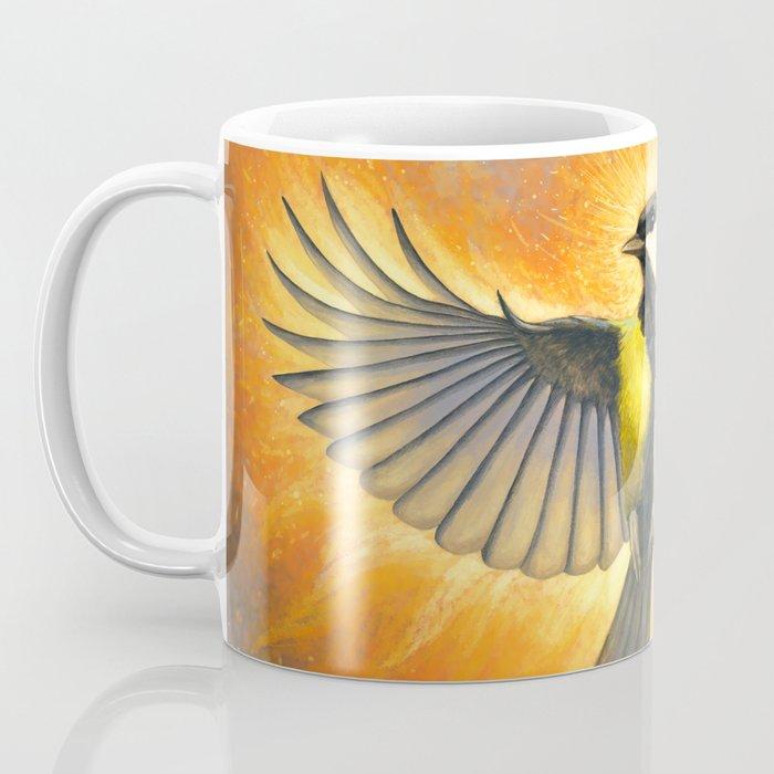 Phoenix tit bird Coffee Mug