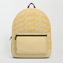 good vibes only XIX Backpack