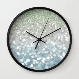 Winter Flurries Wall Clock