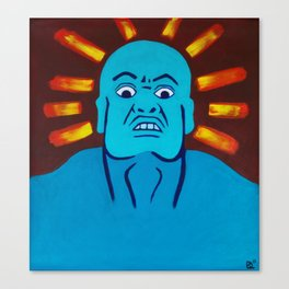 Fear God Canvas Print