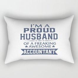 I'M A PROUD ACCOUNTANT'S HUSBAND Rectangular Pillow