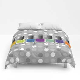 Colour happy Comforters
