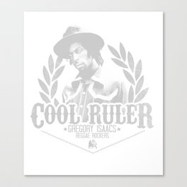 Gregory Isaacs The Cool Ruler Canvas Print