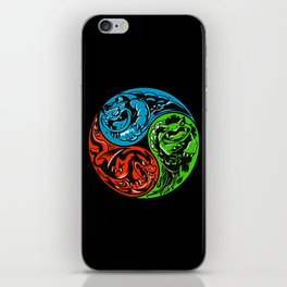 POKéMON STARTER: THREE ELEMENTS iPhone Skin