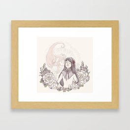 MadoHomu #1 Framed Art Print
