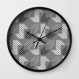 Clover&Nessie Gray/LightGray Wall Clock