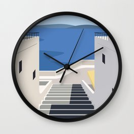 Summer Steps Wall Clock
