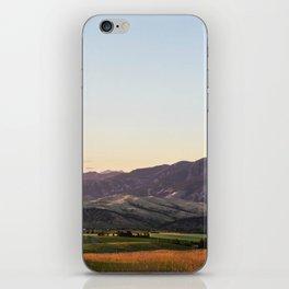 Bridger Range iPhone Skin