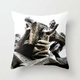 Reaching for Sanity Throw Pillow