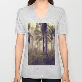 Tropical Forest Unisex V-Neck