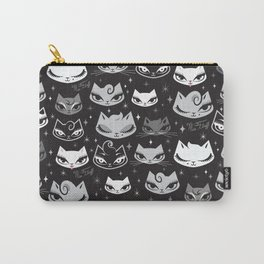 Rockabilly Cats with Pompadours Carry-All Pouch