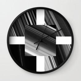 Saturn Rings (all) Wall Clock