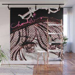 WILLARD/EYES Wall Mural