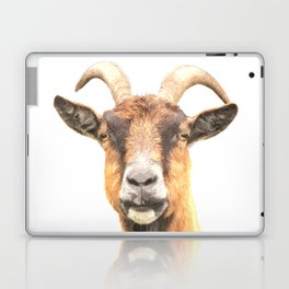 Goat Portrait Laptop & iPad Skin