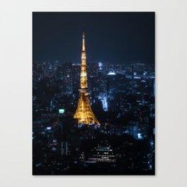 Tokyo Icon Canvas Print