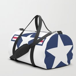 US Air-force plane roundel HQ image Duffle Bag