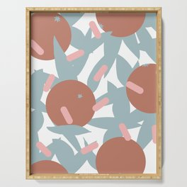 Postmodern Orange Grove II Serving Tray