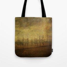 The upside world Tote Bag