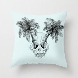 Monkey island Throw Pillow