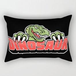 dinosaur mascot. Rectangular Pillow