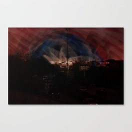 Pace in terra Canvas Print