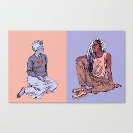 Gal Pals Canvas Print