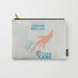 Citizen Kane, minimal movie poster, Orson Welles film, hollywood masterpiece, classic cinema Carry-All Pouch