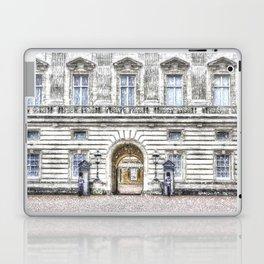 Buckingham Palace Snow Laptop & iPad Skin