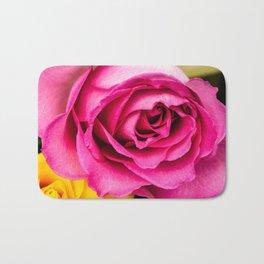 Pink Rose 1 Bath Mat
