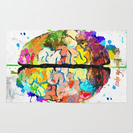 Human Brain Rug