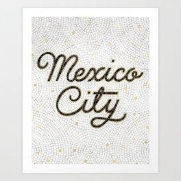 Mexico City Art Print