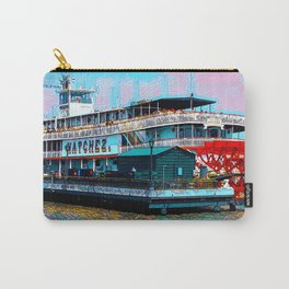 Natchez Riverboat New Orleans Carry-All Pouch