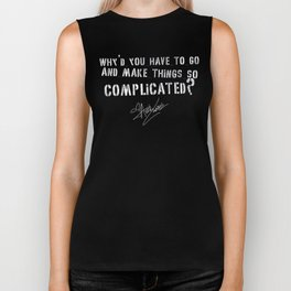 Avril Lavigne - Complicated. Biker Tank