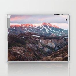 Multicoloured Hills of Landmannalaugar, Iceland Laptop & iPad Skin