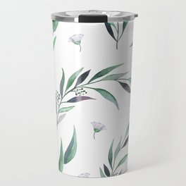 Native Gum Leaves Travel Mug