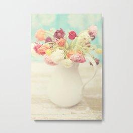 Ranunculus I Metal Print