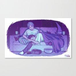 Dreams full of magic Canvas Print