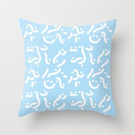 Curvers/ lines/ runners Throw Pillow