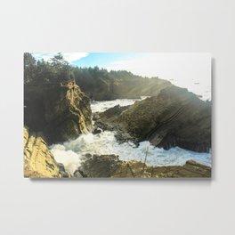 Cape Arago Metal Print