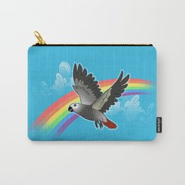 Rainbow bridge african grey parrot Carry-All Pouch