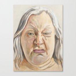 Sneer Canvas Print