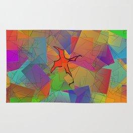 2506 Little cubistic phoenix ... Rug
